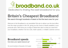 Subscribe to our broadband newsletter