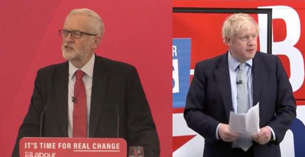 Jeremy Corbyn and Boris Johnson