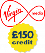 Virgin Media with £150 credit